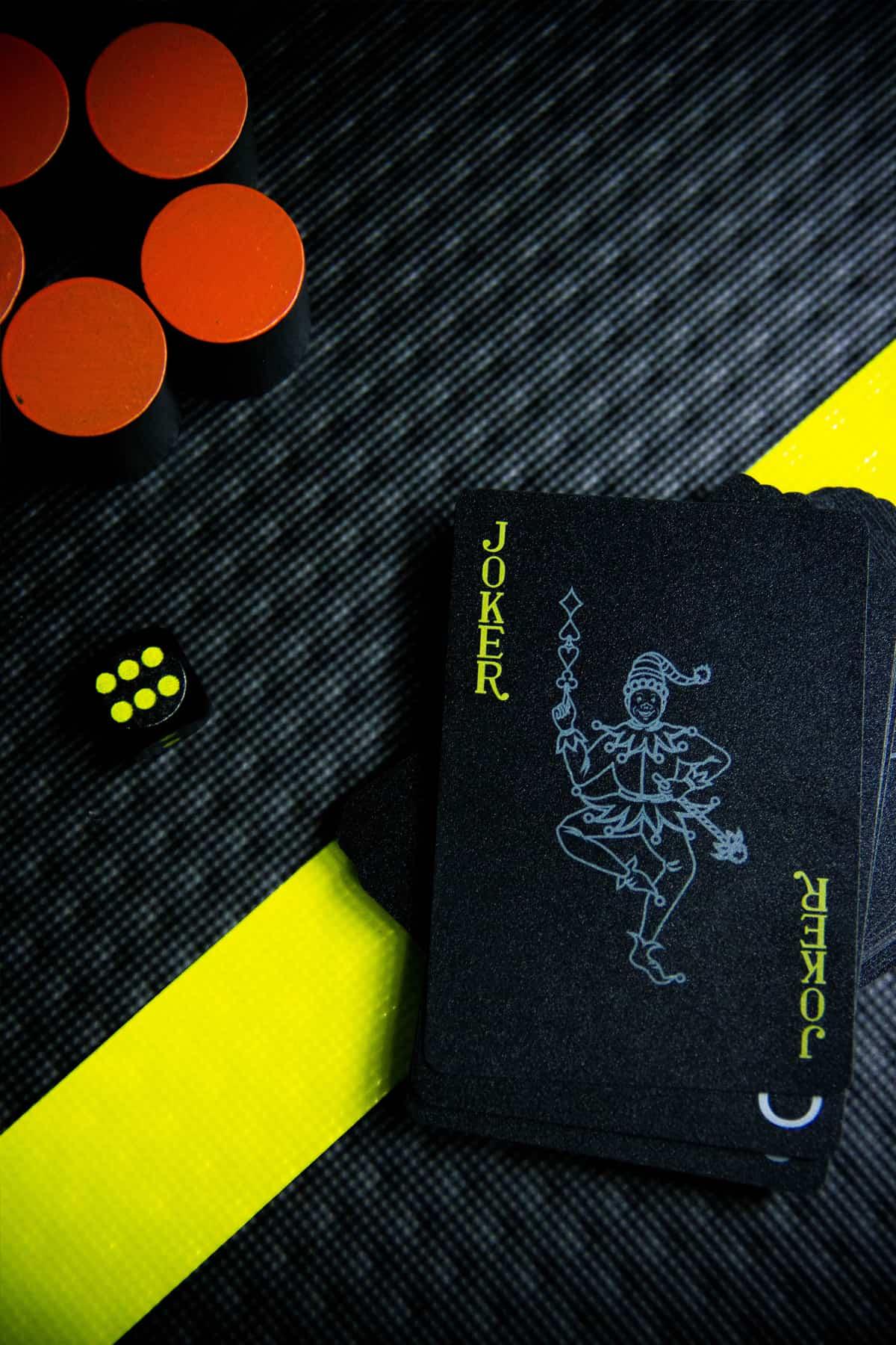 Yellow V kaartspel - Waterbestendig